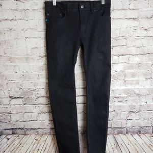 Betabrand Black Straight  Leg Jeans